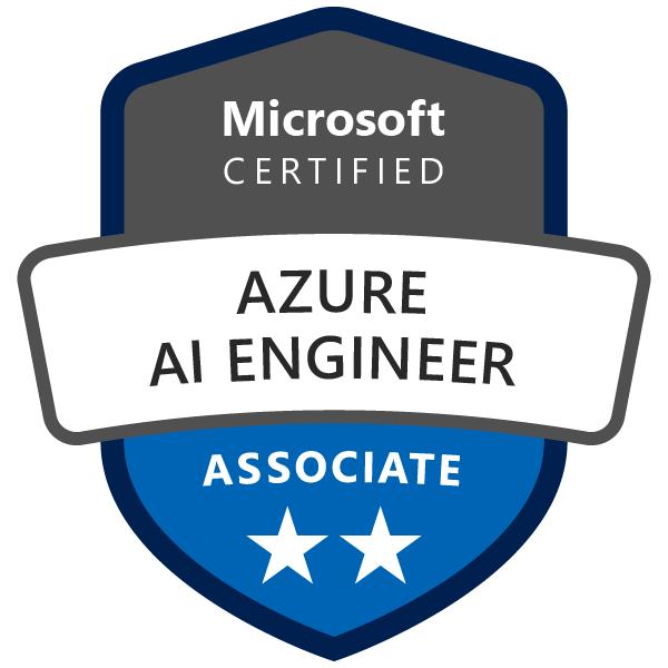 Microsoft Certified Azure AI Engineer Associate